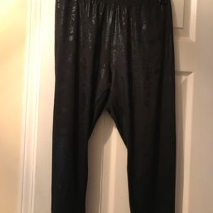 Apple Bottom stretch black pants
